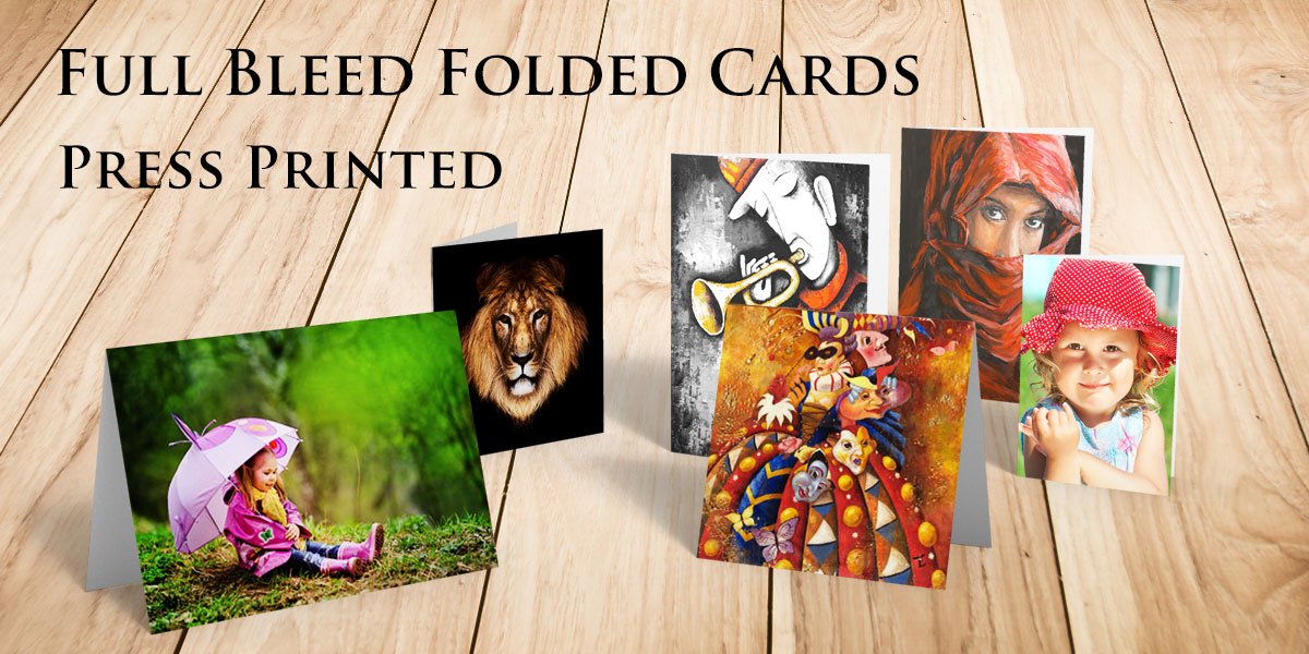 Create Press Printed Cards of Your Artwork and Photography