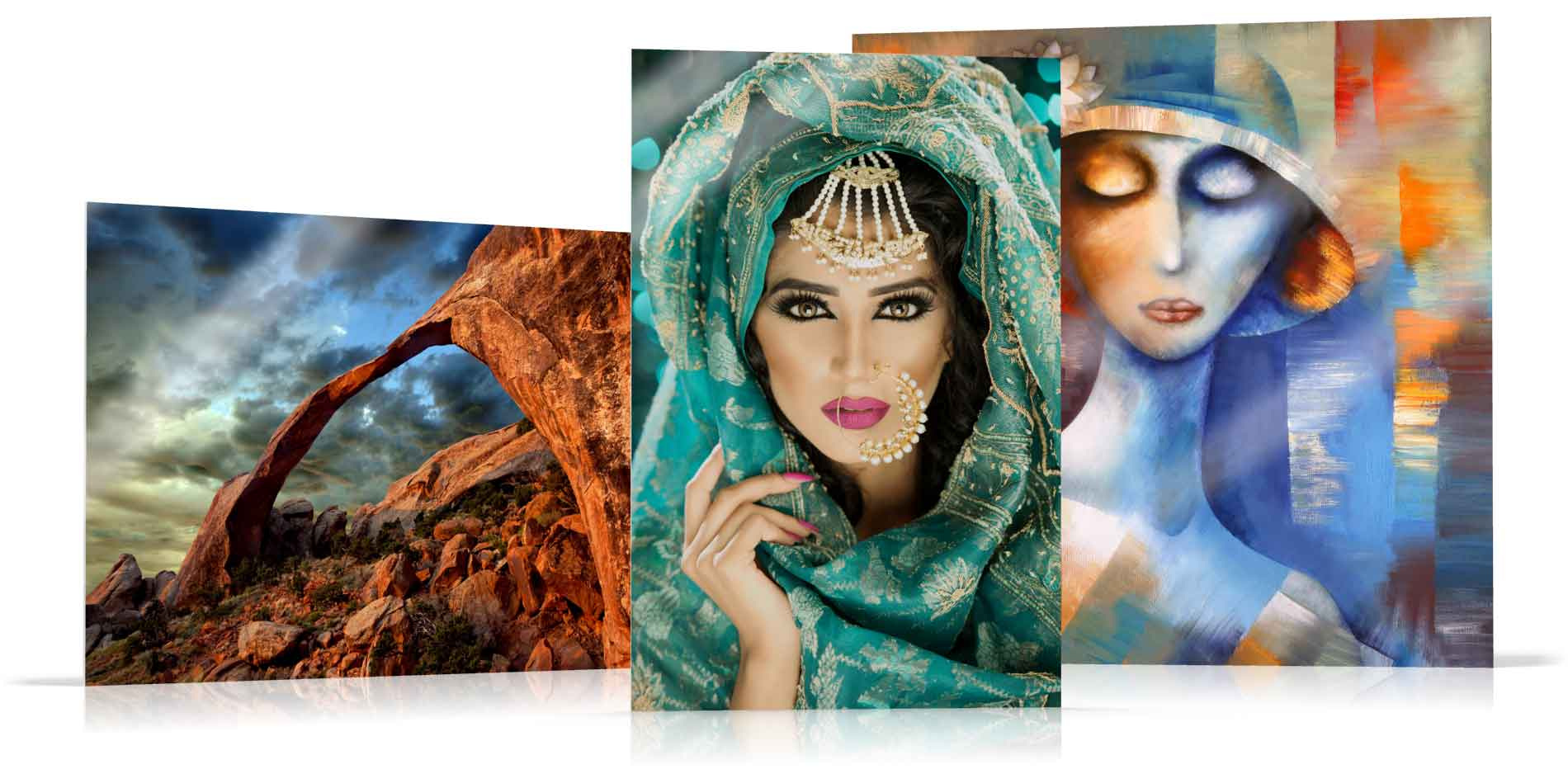 New Face Mounted Acrylic Prints and Options