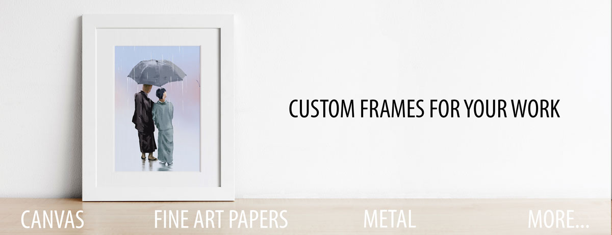 Custom Frame Your Works