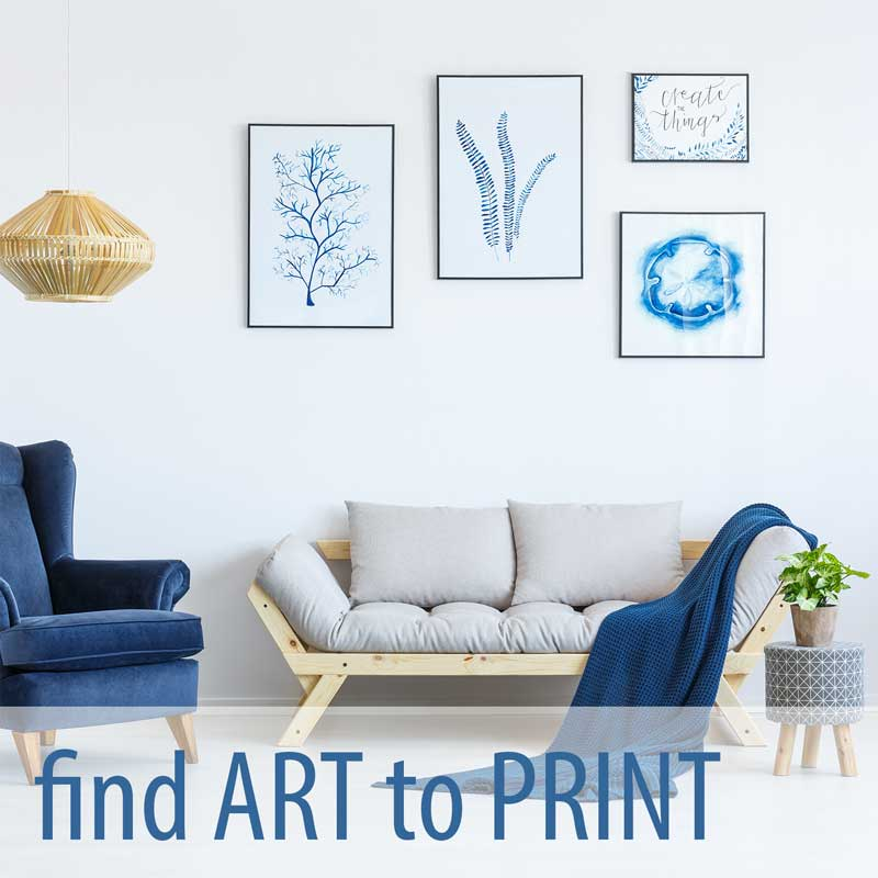 Search for artwork and photos you can order as prints royalaty-free from thousands of high quality images.